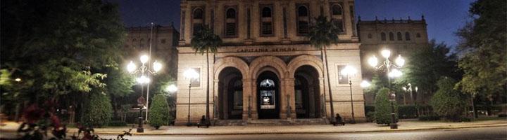 Sevilla renueva la iluminación de la Plaza del Ejército Español por faroles fernandinos y homogeniza el entorno de Plaza de España