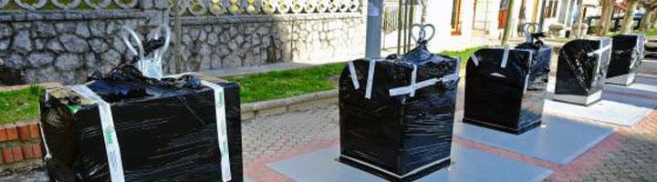Santander ha completado ya el 60% de primera fase de renovación de contenedores soterrados