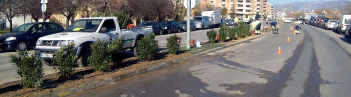 Huesca inicia los trabajos de mejora y mantenimiento del Parque del Encuentro
