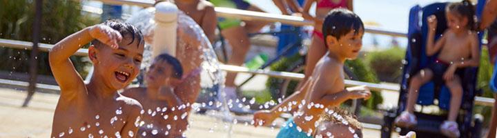 Juegos de agua para niños seguros e inclusivos con las soluciones de VORTEX