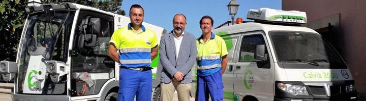 Calviá incorpora la primera barredora eléctrica en el municipio