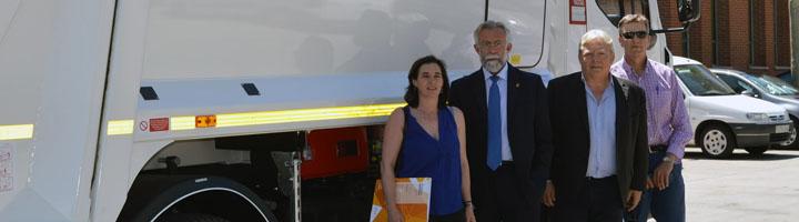 Fraikin suministra un nuevo camión recolector al servicio de recogida de residuos de Talavera de la Reina