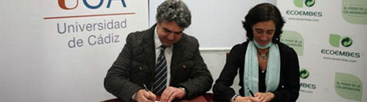 UCA y ECOEMBES cooperarán para proteger el medio ambiente desde el fomento del reciclaje