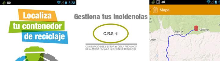 El Consorcio del Sector II de Almería desarrolla una aplicación móvil para mejorar la gestión de residuos