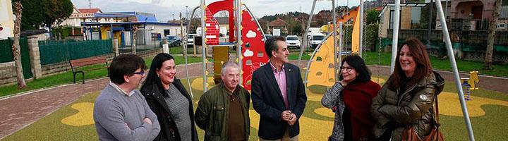 El Gobierno de Cantabria acondiciona el parque deportivo y recreativo de la localidad de Liaño