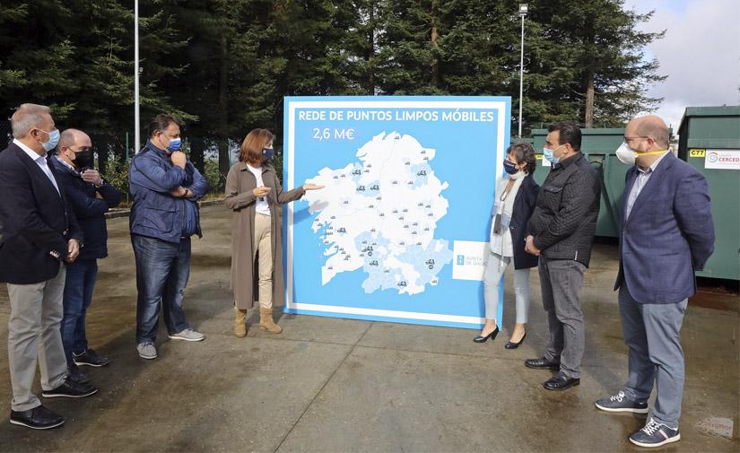 140 municipios gallegos cuentan con puntos limpios móviles para reciclaje