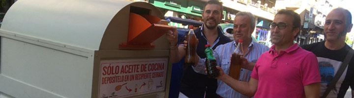 Instalados 8 nuevos contenedores de recogida de aceite doméstico usado en Calahorra