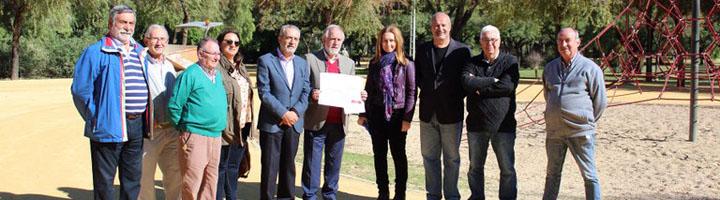 Sevilla completa la segunda fase de instalación de la red de riego automático del Parque Amate