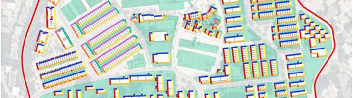 Desarrollan un método para estimar la eficiencia energética de barrios enteros