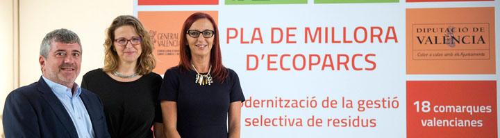 La Diputación de Valencia invertirá 1,2 millones en modernizar del sistema de recogida de residuos en los cinco Consorcios