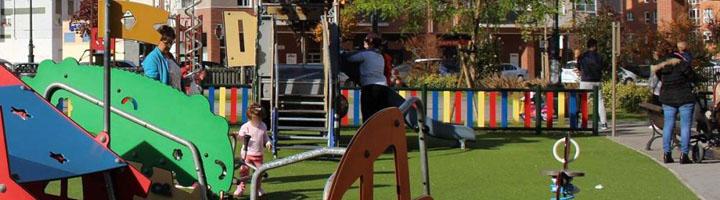 Oviedo renovará ocho zonas de juegos infantiles