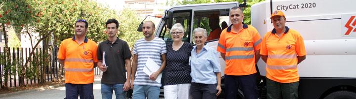 La nueva empresa de limpieza viaria en Sueca, comienza su actividad y la renovación del equipamiento