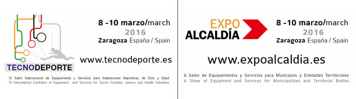 ExpoAlcaldía y Tecnodeporte 2016: referentes para el análisis y el debate sobre equipamientos y servicios en el ámbito municipal, deportivo y ocio