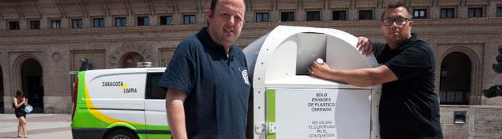 Zaragoza instala 120 nuevos contenedores de recogida de aceite doméstico