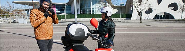 L'Hospitalet estrena su primer servicio de motos compartidas con 100 scooters de ACCIONA
