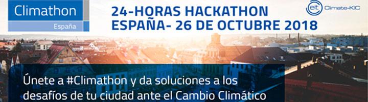 Vuelve #Climathon, el evento mundial de las ciudades que luchan contra el cambio climático