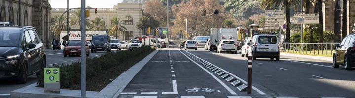 Más de doscientos kilómetros de red ciclable en Barcelona