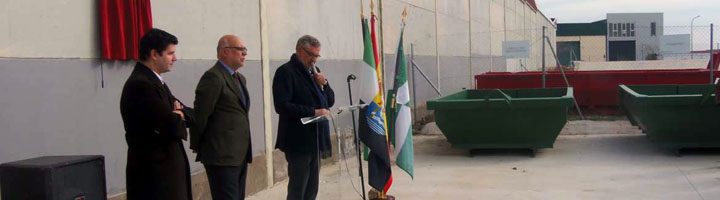 El Gobierno de Extremadura inaugura el Punto Limpio de Malpartida de Plasencia