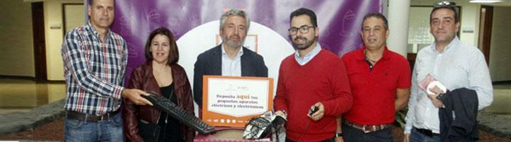 El Cabildo de Lanzarote fomentará el reciclaje de RAEEs con la distribución de 60 contenedores en lugares públicos