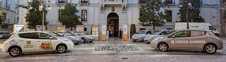 Mahou San Miguel presenta en Granada su nueva flota comercial de vehículos 100% eléctricos