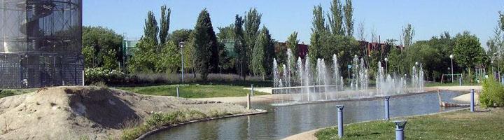 Mantenimiento de las fuentes ornamentales de Rivas-Vaciamadrid