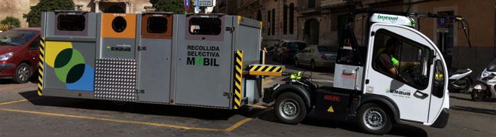 EMAYA pone en marcha el nuevo servicio de recogida selectiva móvil en la Calatrava, el Sindicat y Monti-sion