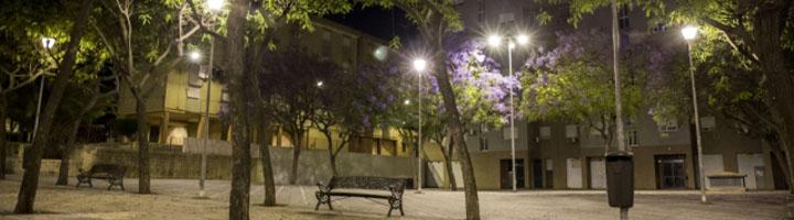 Huelva finaliza el proyecto de modernización del alumbrado público en el Polígono San Sebastián