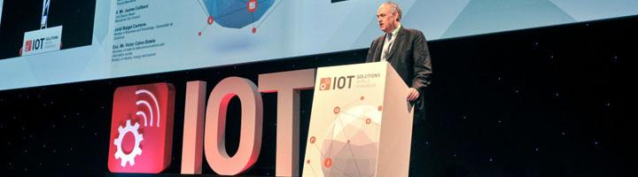 IoT Solutions World Congress lleva el IoT a los aeropuertos, los servicios y la exploración espacial