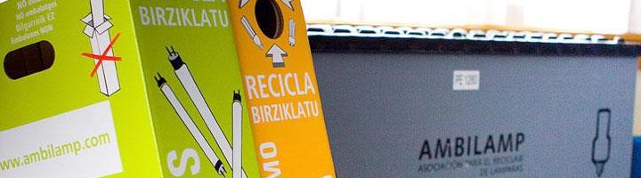 Ayuntamiento La Orotava y Effico favorecen el reciclado de 130 kilogramos de lámparas fluorescentes en 2014
