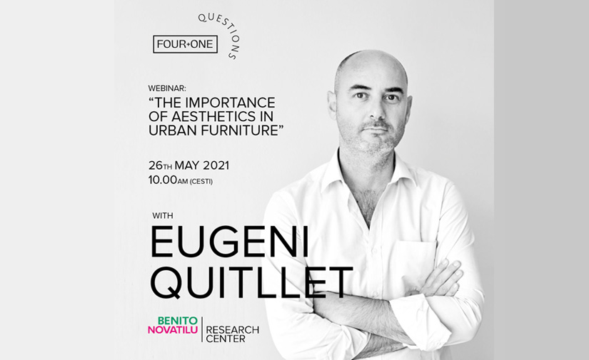 4+1 QUESTIONS con Eugeni Quitllet