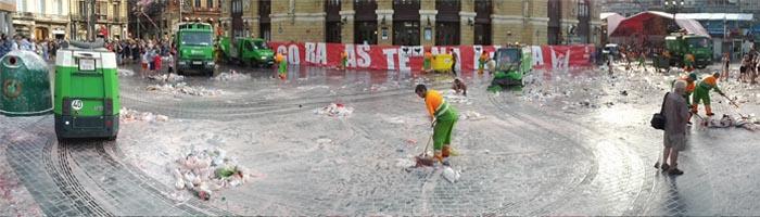Bilbao licita el servicio de limpieza y recogida de residuos para los próximos 4 años