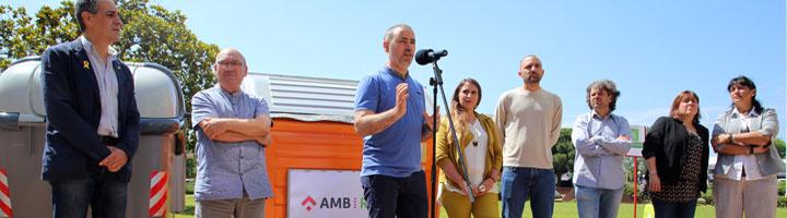 AMB presenta el nuevo modelo de recogida de residuos que ya aplican varios municipios metropolitanos