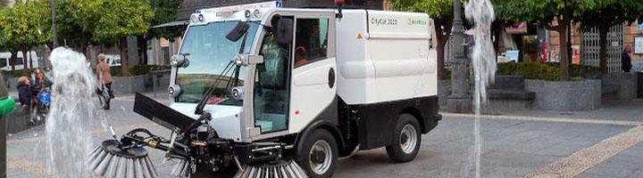 Sadeco comienza la renovación de su maquinaria de limpieza viaria