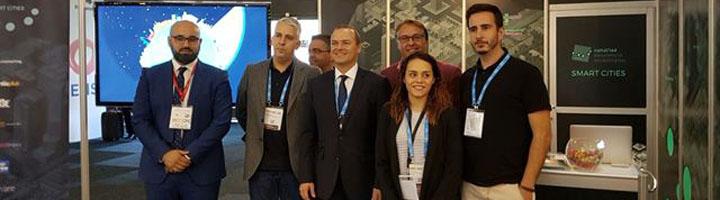 Las Palmas de Gran Canaria presenta el proyecto Smart City en la Expo World Congress de Barcelona