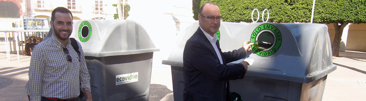 Almería comienza a instalar esta semana 350 nuevos contenedores de vidrio
