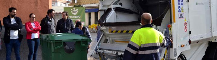 Arranca el nuevo servicio de recogida de residuos de PROMEDIO con mejoras sociales y medioambientales