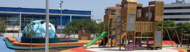 Ibiza inaugura el nuevo parque infantil Parc de s'Illa, en el barrio de Can Misses