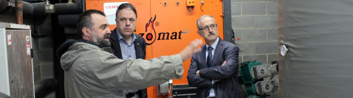 Mollet del Vallés aumenta su apuesta por la energía renovable con la instalación de una nueva caldera de biomasa