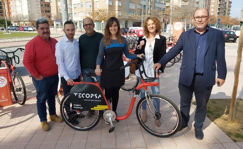 50 nuevas bicicletas se incorporan al sistema de alquiler municipal MuyBici de Murcia