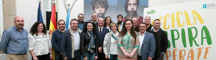 La Xunta de Galicia y Ecoembes lanzan una novedosa campaña para potenciar el reciclaje de envases