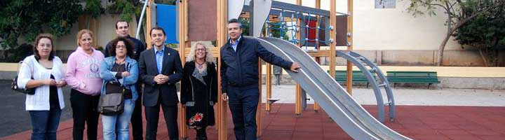 El Ayuntamiento de Santa Cruz de Tenerife reabre al público el parque infantil de Valleseco