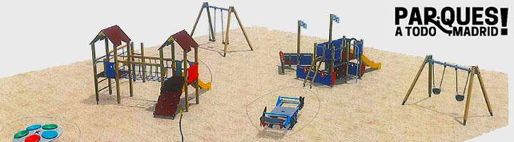 Comienza la renovación de 33 áreas de juegos infantiles en todos los distritos de Madrid