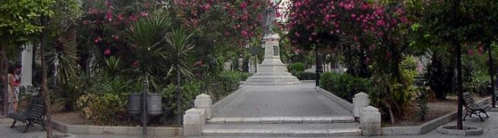 Cadiz comienza la instalación del riego automatizado en los jardines de la Plaza de Candelaria