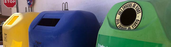 La empresa municipal Poble Net incrementa el reciclaje en El poble Nou de Benitatxell