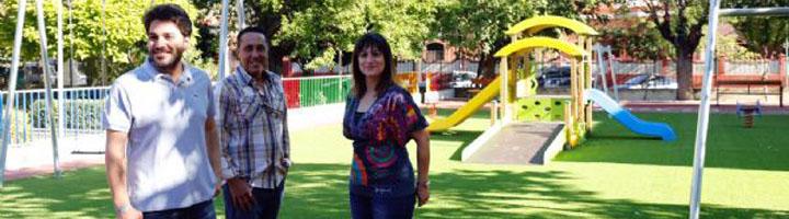 Navalmoral de la Mata abre la zona infantil del parque municipal Casto Lozano