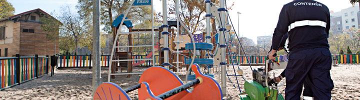 CONTENUR adjudicataria del mantenimiento de áreas infantiles del municipio de Marbella