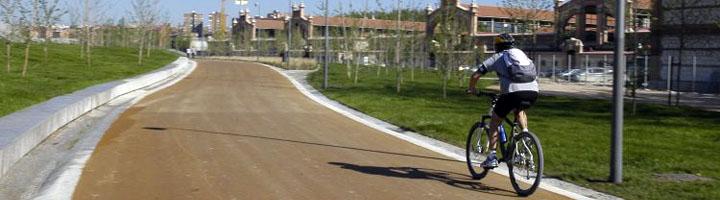 Comienzan las obras del itinerario ciclista que discurrirá paralelo a Madrid Río
