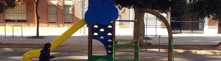 Valencia instala nuevos juegos infantiles atendiendo a las peticiones de los vecinos
