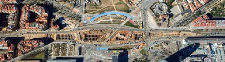 Barcelona plantea la transformación de la plaza de las Glòries