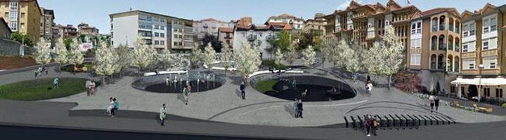 Santander aprueba el proyecto para la mejora urbana del microespacio de la Plaza de Amaliach